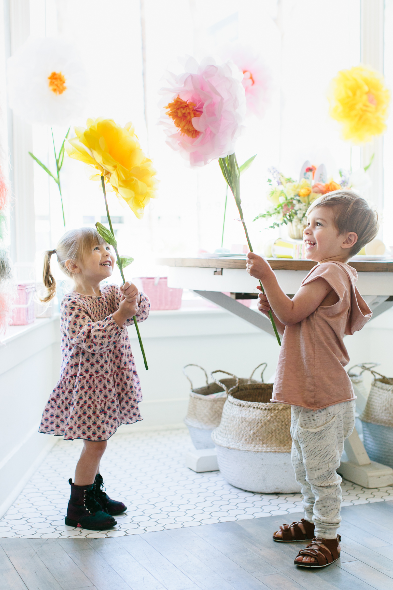Giant Tissue Paper Flowers - Project Nursery