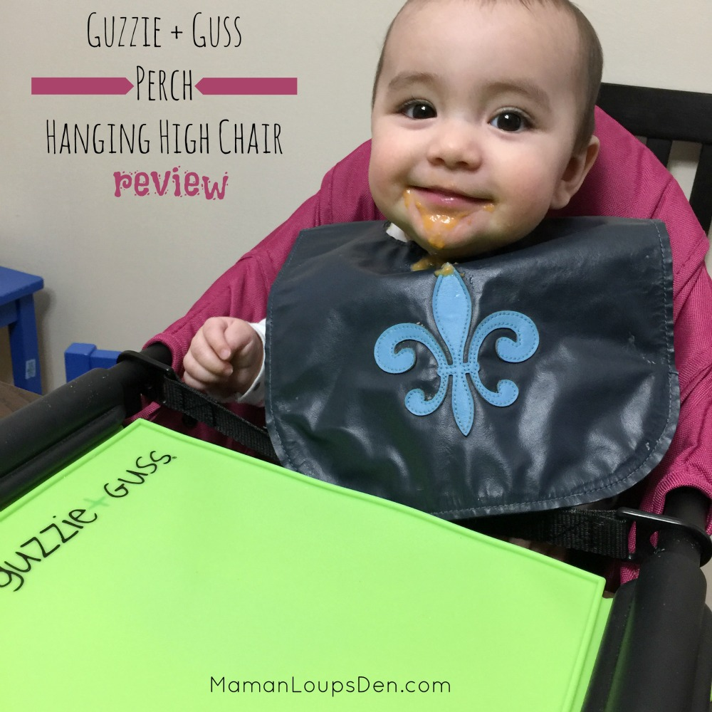 Guzzie and Guss Perch hanging high chair review