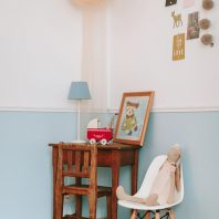 baby girl vintage chic room