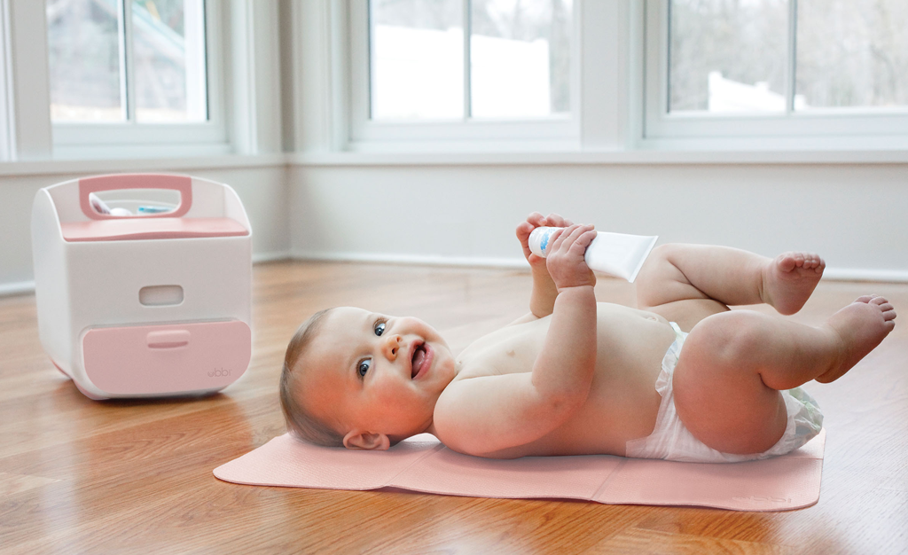 Diaper Changes are Made Smarter with Ubbi